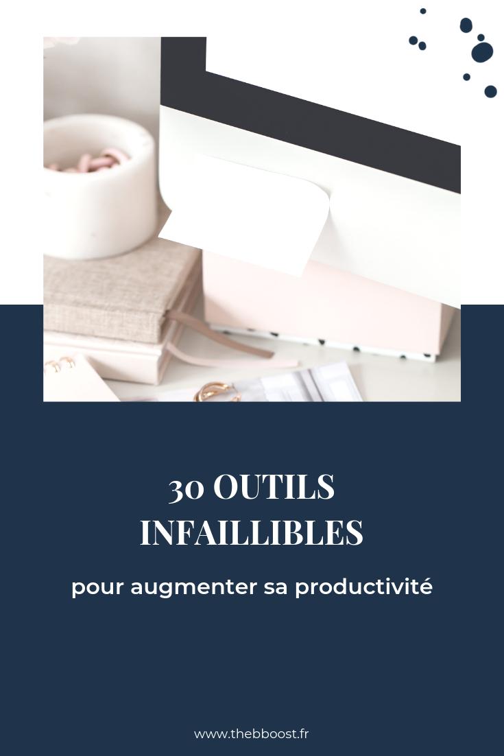 30 outils pour augmenter sa productivité d'entrepreneur