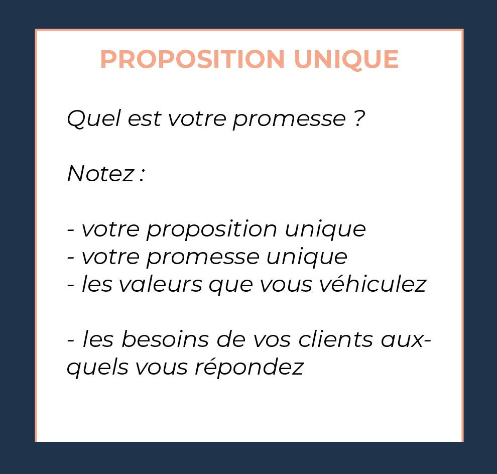 business model canvas proposition de valeur