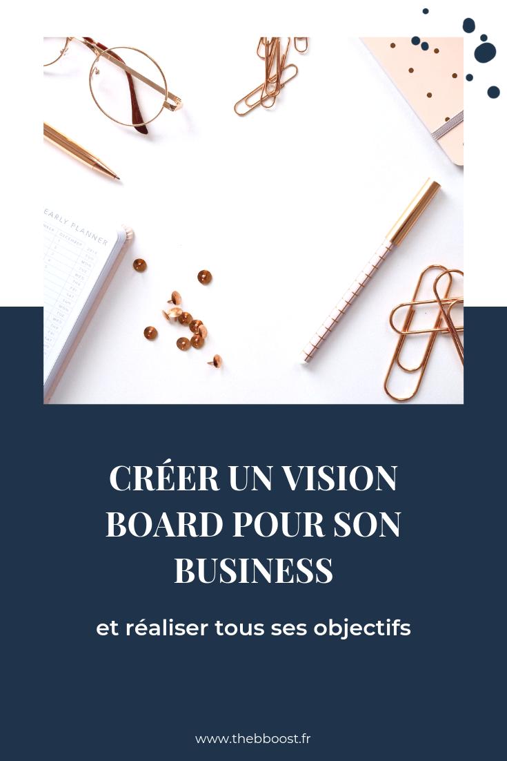 créer un vision board pour son business