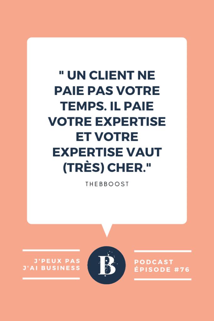 5 blocages qui vous empêchent d'avancer dans votre business. Un podcast du blog www.thebboost.fr